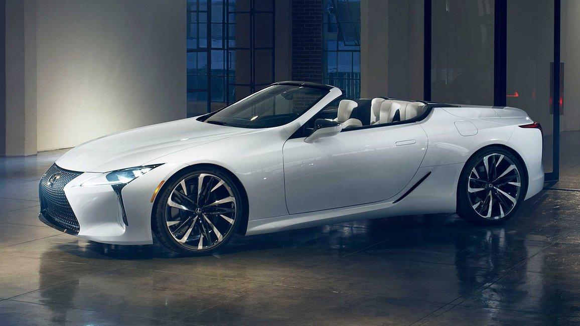 Το Lexus LC Convertible θα είναι στο Detroit (video)