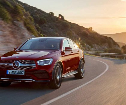 Facelift και περισσότερη δύναμη για την Mercedes-Benz GLC Coupe