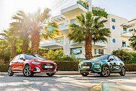 Συγκρίνουμε τα trendy Audi A1 Citycarver 35 TFSI και DS3 Crossback 1.2 PureTech 130