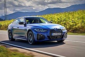 2021 BMW i4 M50-FIRST DRIVE: Οδηγούμε τη σύγχρονη... BMW M3 (video)